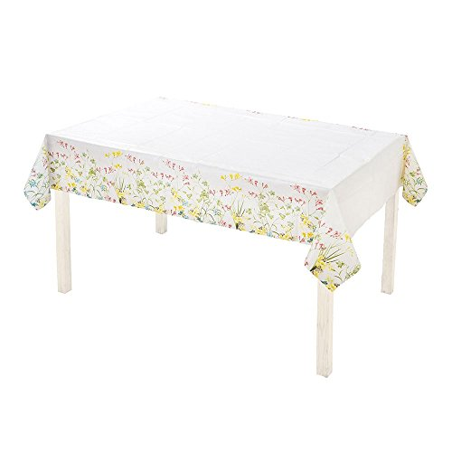 Talking Tables Truly Scrumptious Vintage Floral Paper Table Cover for a Tea Party or Birthday, (6 Ft. x 4 Ft.)