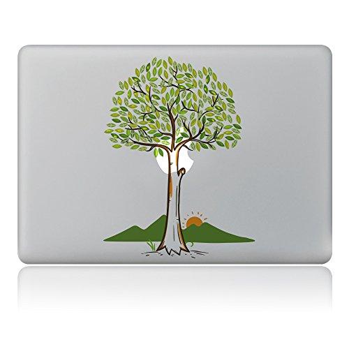 Vati ante Pesce vinile della decalcomania di arte della pelle nera per Apple Macbook Pro Air Mac 13