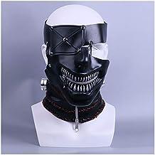 Máscara YN 2017 Película Tokyo Ghouls Cos One-Eyed Tipo de Oro Investigación de Madera