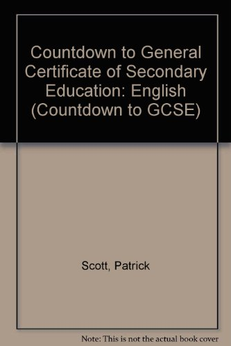 Countdown to General Certificate of Secondary Education: English (Countdown to GCSE)