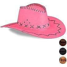 Amazon.es  sombreros vaqueros - Rosa d68fc8e450d