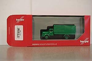 Herpa 308397 Mercedes-Benz L 311 Polizei Hamburg - Juego de Accesorios de Inodoro