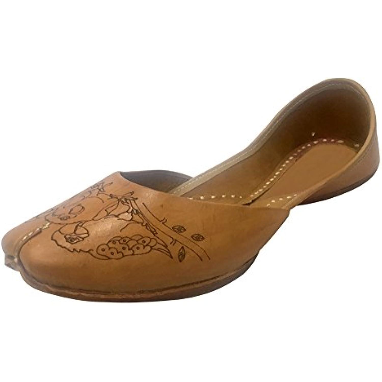 Step n Style - , Ballerines pour femme Marron marron - Style B074XG4WY3 - 8c25d3