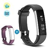 MUZILI Band Pedometer Smart Fitness Band Activity Tracker SmartBracelet with Sleep Monitor, Step