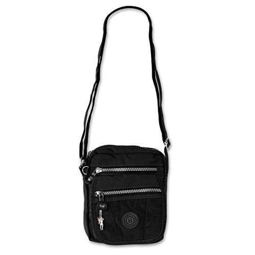Jennifer Jones, Borsa a tracolla Unisex – Adulto nero