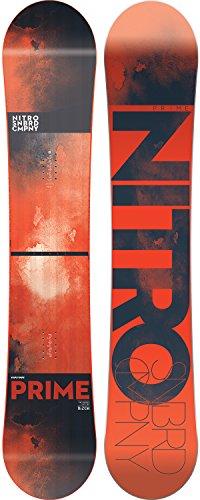 Nitro Prime Snowboard red 2018