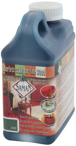 saman-tew-102-32-1-quart-interior-water-based-stain-for-fine-wood-turquoise-by-saman