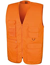 Result Safari Herren Weste (Small) (Orange)