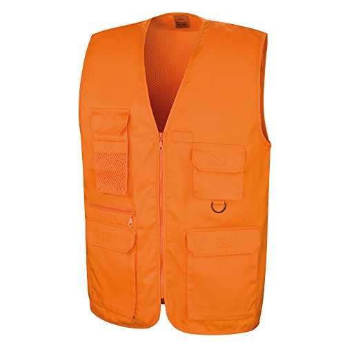 Result Safari Herren Weste Orange