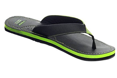 Sparx Men's SFG523 Series Green Black Synthetic Running Slippers 10UK  available at amazon for Rs.311
