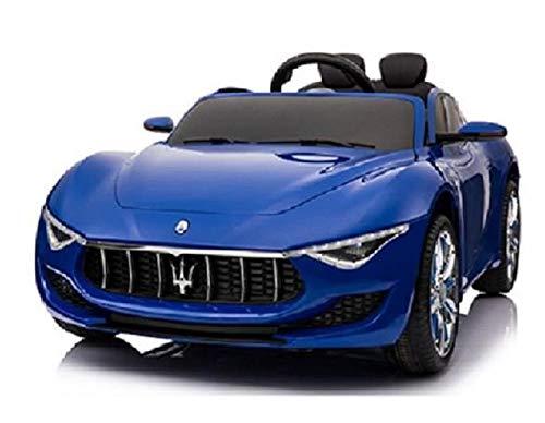 MINICARS Maserati Alfieri 126 cm Bleu Voiture électrique pour Enfants