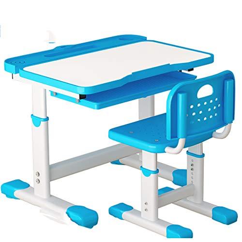 PIGE Multifunktionales Studier- und Stuhlset für Haushaltskinder - Einfacher Stil, Halterungsstruktur, großer Desktop, manuelles Anheben ist bequem und schnell, geeignet für Lern- / Lesepult für Kin Schneller Desktop