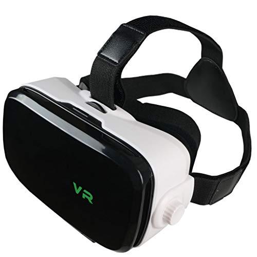 Lonshi VR-Brille Virtual Reality-Brille VR-Glas mit verstellbarer Linse und Smartphone mit 4,7-6,5 Zoll unterstützen Android Win und IOS Mobile Heimkino