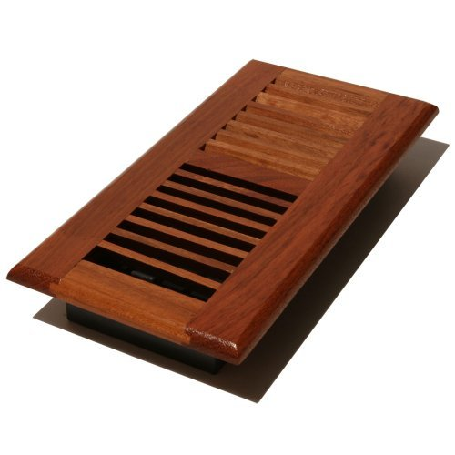 Decor Grates WLC310-N 3-Inch by 10-Inch Wood Floor Register, Natural Brazilian Cherry by Decor Grates