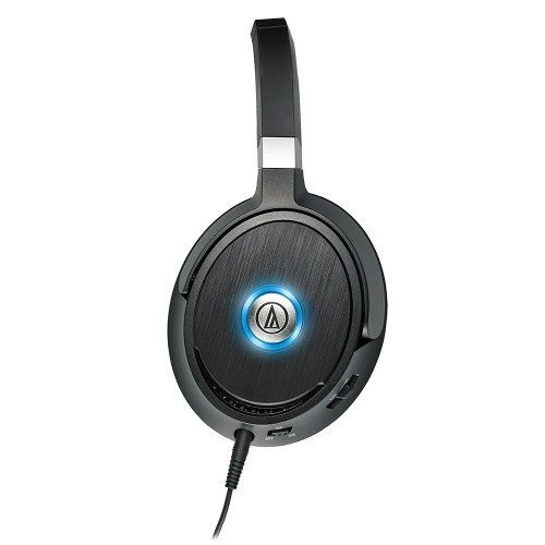 Audio-Technica ATH-ANC70 Cuffie Active Noise Cancelling, Nero