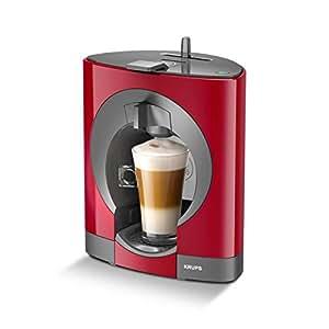 Krups yy2291fd–Cafetière (autonome, rouge, Espresso Machine, capsules, 0,8l, entièrement automatique)