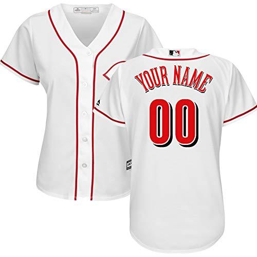 wei3962 Baseball Jersey Personalized Sommer Damen Herren Kinder Trikot Hemden-Klage für Team Sports T-Shirt Jersey Sweatshirt Bequem Atmungsaktiv Baseball Jersey Benutzerdefinierte(Namen und Nummer)
