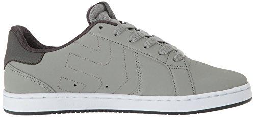 Etnies Herren Fader LS Skateboardschuhe Grau (Grey/White)
