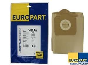 SACS ASPIRATEUR AQUAVAC 620 LOT DE 5 PaR EUROPaRT VB156