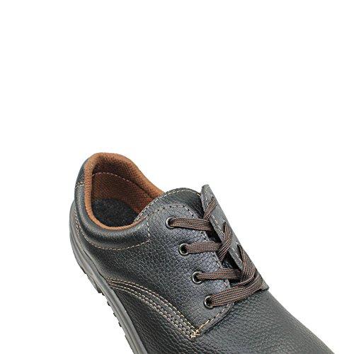 Fan safety first s3 chaussures de travail chaussures chaussures berufsschuhe businessschuhe plat noir Schwarz