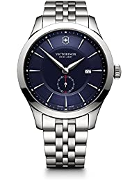 Victorinox Men's 'Alliance' Swiss Quartz Stainless Steel Casual Watch, Color:Silver-Toned (Model: 241763)