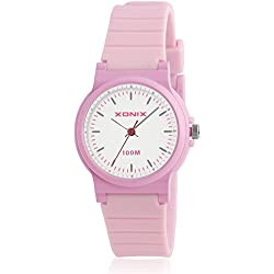 Simple fashion girl children watch/ water resistant quartz pointer table-B