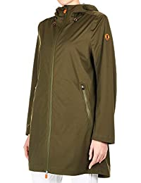 cc0e789f8979 Save The Duck Women s D4494WBARK800841 Green Polyester Outerwear Jacket