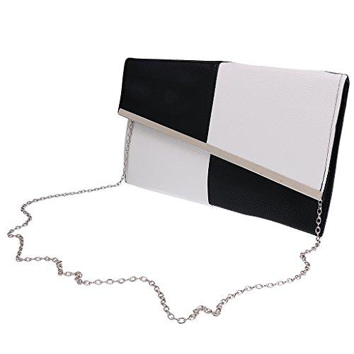 Gazechimp Damen Handtaschen, Clutch, Clutches, Clutchbags, Unterarmtaschen, Partybags , PU Leder Tasche