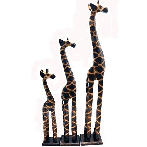 Gall&Zick Madera Figura Decorativa Jirafa