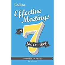 By Barry Tomalin Effective Meetings in 7 simple steps [Paperback]