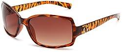 Guess Sunglasses Women Rectangle - Tortoise