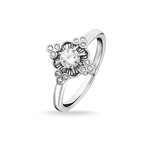 Thomas Sabo -Ringe 925_Sterling_Silber zirkonia Ringgröße 56 TR2221-643-14-56