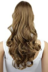 Idea Regalo - PRETTYSHOP 60cm Coda di cavallo parrucchino clip sulle estensioni parte dei capelli resistente al calore ondulato