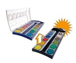 Pelikan 723247 - Erweiterungs-Set für den Deckfarbkasten K12 mit 12 zusätzlichen Farben