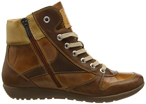 Pikolinos Ladies Lisboa W67_i17 Sneaker Alta Marrone (brandy)