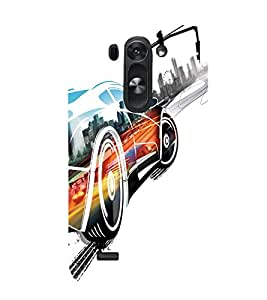 printtech Fast Furious Superfast Car Back Case Cover for LG G3 Beat / LG G3 Vigor / LG G3s / LG g3s Dual