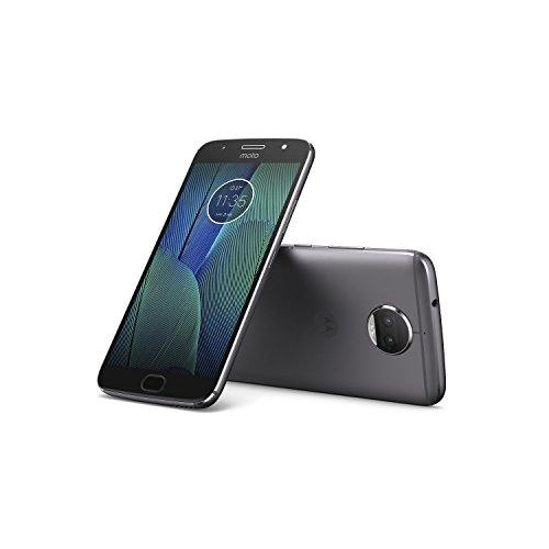 "Motorola Moto G5s Plus - Smartphone libre de 5.5"" Full HD (4 G, Bluetooth 4.2, Octa-Core de 2.0 GHz, memoria 32 GB, 4 GB RAM, cámara de 13 MP, Android) gris - [Exclusivo Amazon]"