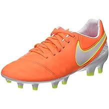 watch 4fbf5 fd7e2 Nike Tiempo Legacy II FG, Botas de fútbol para Mujer, (Tart White