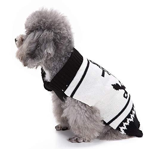 XDDQ Weihnachten Kleidung Pet Kleidung,Haustier Hund Navy KostüM Matrose Pullover Herbst Und Winter Kleid WeihnachtskostüM