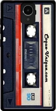 MOBILINNOV Archos Core 50 Cassette Audio K7 Silikon Hülle Handyhülle Schutzhülle - Zubehor Etui Smartphone Archos Core 50 Accessoires