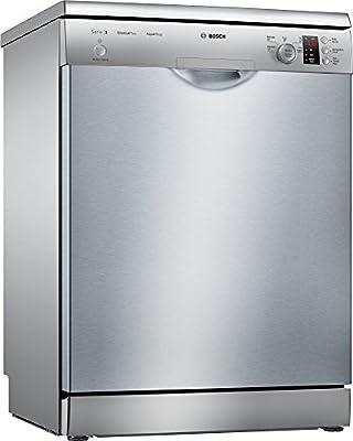 Bosch Serie 2 SMS25AI02J Independiente 12cubiertos A++ lavavajilla - Lavavajillas (Independiente, Acero inoxidable, Full size (60 cm), Acero inoxidable, Botones, Giratorio, LED)