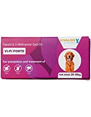 Vivaldis Single Pipette Prevention & Treatment Of Fleas, Ticks And Chewing Lice Infestation In Dogs(20-40Kg)