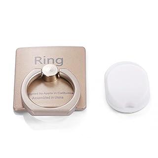 ANTFEES Universal 360-Grad Drehung Handy Ring stehen Telefon Griff halter f¨¹r Smartphone und Tablets-Gold