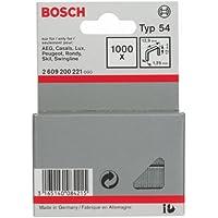 Bosch 2 609 200 221 - Grapa de alambre plano tipo 54-12,9 x 1,25 x 12 mm (pack de 1000)