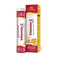 SUNSHINE NUTRITION Vitamin C 1000 Mg Orange Flavor Effervescent Tablets