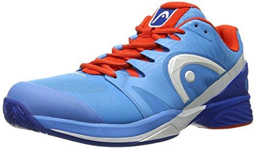 Head Nitro Pro Men Blfl, Zapatillas de Tenis para Hombre, Azul/Naranja, 41 EU
