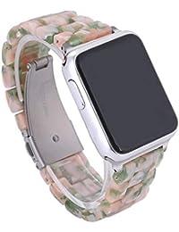 QIONGQIONG Iwatch Apple Watch Originality Rose Armband 38Mm/42Mm Keramik Iwatch Series 3 Series 2 Series 1 Uhrenarmband Smart Watch Armbänder Band Mit Edelstahlschließe