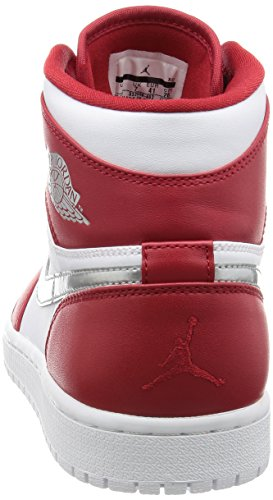 Nike Rouge (rouge gymnase / argenté métallique - blanc)