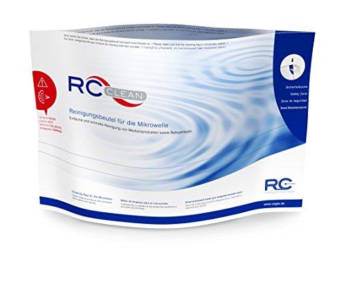RC-Clean Sterilisationsbeutel für die Mikrowelle, Sterilisator für Babyartikel und Medizinprodukte