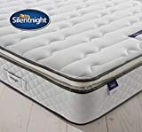 Silentnight Deluxe Sprung Mattress | Luxury Pillowtop | Zoned Spring System | Eco